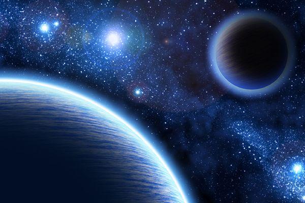 Dwie bliźniacze planety są bardzo podobne do Ziemi