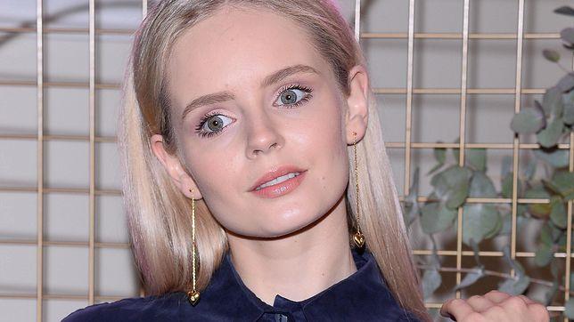 Olga Kalicka zmieniła kolor włosów