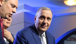 Wyniki wyborów. Grzegorz Schetyna, lider PO.