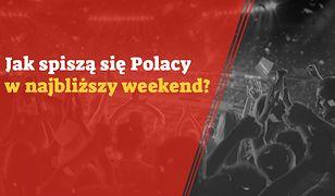Jak spiszą się Polacy w najbliższy weekend?