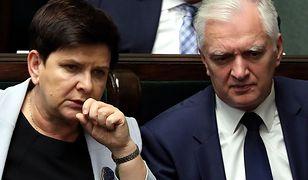 Beata Szydło i Jarosław Gowin