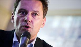 Prezenter TVP Krzysztof Ziemiec