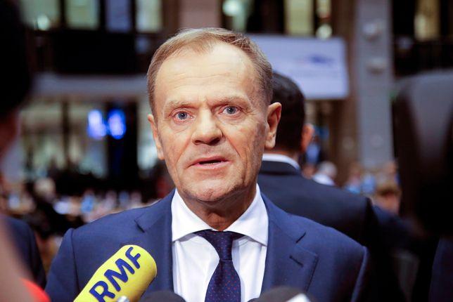 Donald Tusk krytykował zwolenników tzw. twardego brexitu