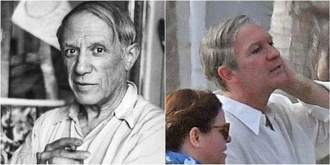 Od lewej: Pablo Picasso, Antonio Banderas
