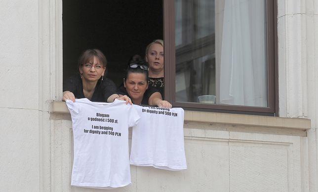 To już 38. dzień okupacji Sejmu przez protestujących niepełnosprawnych