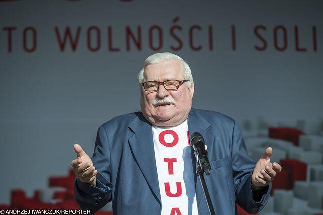 Lech Wałęsa jest aktywnym komentatorem wydarzeń politycznych