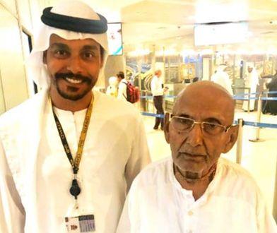 Pracownicy lotniska byli pod wrażeniem wieku mężczyzny