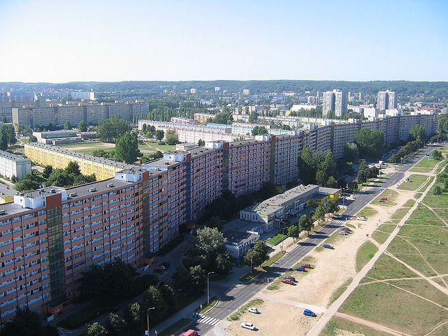 Najdłuższy blok mieszkalny - Falowiec w Gdańsku