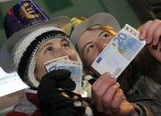 Słowacy pożegnali koronę, a przywitali euro w nocy z 31 grudnia 2008 r. na 1 stycznia 2009 r.