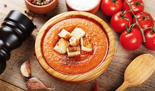 Hiszpańska zupa na zimno