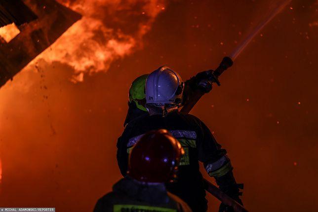 Pożar kościoła św. Mikołaja w Kijowie/ Zdjęcie ilustracyjne