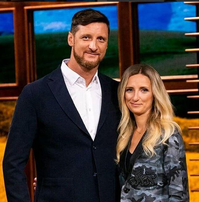 Piotr Gruszka i jego żona Aleksandra Szettel-Gruszka