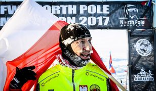 Silna zamieć unieruchomiła maratończyków na Antarktydzie. Wśród uwięzionych Polacy
