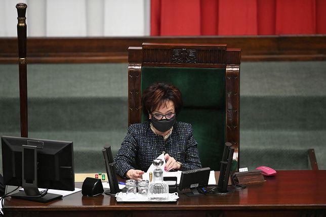 Marszałek Sejmu Elżbieta Witek otrzymała nową funkcję w partii