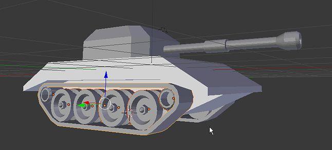 Gotowy, no prawie czołg