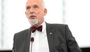 """Janusz Korwin-Mikke zalał strony """"Rzeczpospolitej"""" potokiem bzdur o zmianach klimatu."""