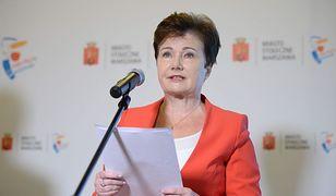 """Ostre słowa Hanny Gronkiewicz-Waltz. """"To jest komisja bolszewicka"""""""
