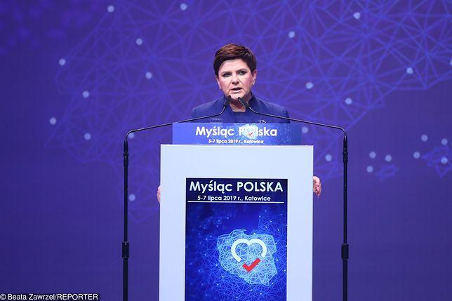 Beata Szydło dostała się do Europarlamentu z rekordowym poparciem wyborców.