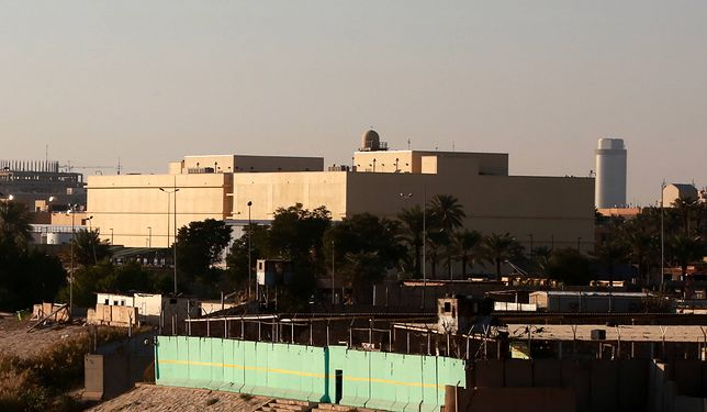 Kolejny atak rakietowy na Zieloną Strefę w Iraku, gdzie znajduje się m.in. ambasada USA