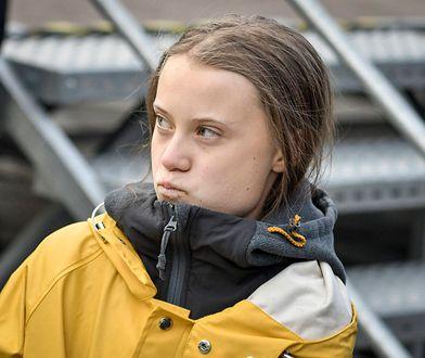 Greta Thunberg zaliczyła wpadkę
