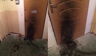 Kobieta była w domu z córką, kiedy doszło do próby podpalenia.