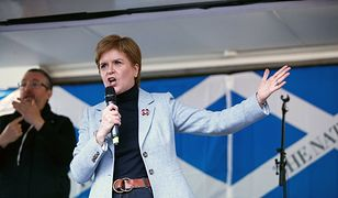 Szkocja. Premier Nicola Sturgeon wygłosiła przemówienie w Glasgow