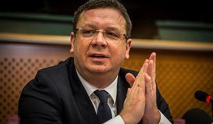 Wiceminister sprawiedliwości Michał Wójcik przekonuje, że zbieranie danych zajmie dużo czasu