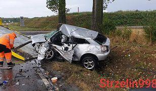Do wypadku doszło w Strzelinie na drodze wojewódzkiej nr 395