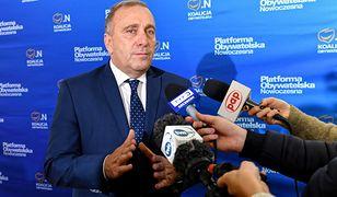Grzegorz Schetyna zapowiedział złożenie w piątek konstruktywnego wniosku o wotum nieufności dla rządu PiS