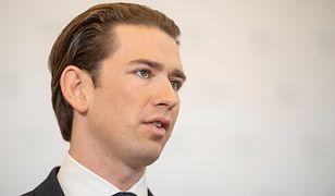 Kanclerz Austrii Sebastian Kurz ogłosił decyzję szefowej MSZ