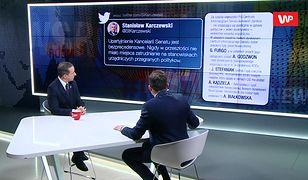 Stanisław Karczewski alarmuje o upartyjnieniu Senatu. Nowy marszałek odpowiada