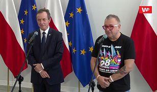 Jurek Owsiak i Tomasz Grodzki w Senacie. Dwa tematy spotkania