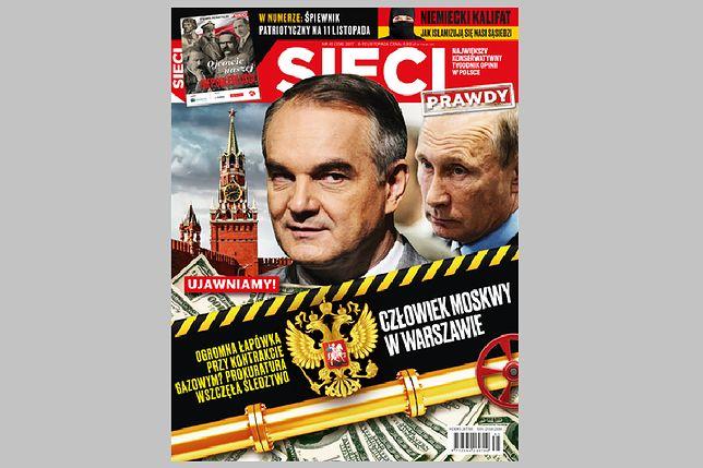 """Czy Pawlak pracował dla Rosjan? """"Sieci"""" wywołują burzę"""