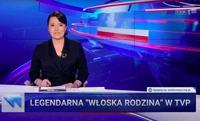 """TVP w """"Wiadomościach"""" promowała swoją ofertę seriali"""