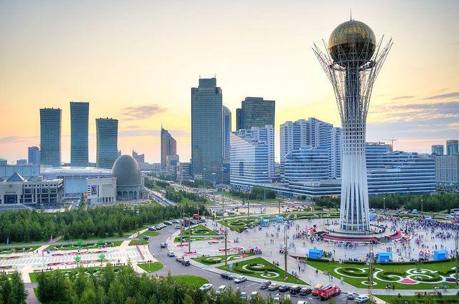Astana wygląda urzekająco o każdej porze dnia