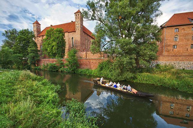 Poznajemy Polskę - zamek biskupów warmińskich w Lidzbarku, Warmińsko -mazurskie