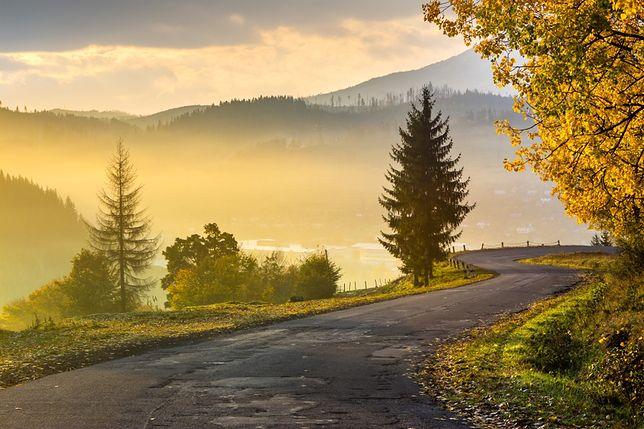 Piękne widoki z polskich dróg