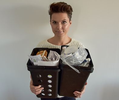 To ja i moje śmieci - papier i plastik z około dwóch tygodni