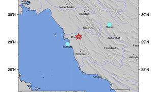 Iran. Trzęsienie ziemi