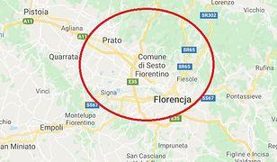 Włochy. Trzęsienie ziemi koło Florencji