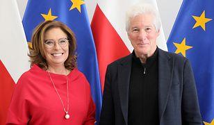 Richard Gere odwiedził w poniedziałek Sejm