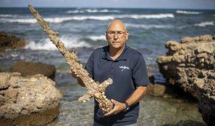 Miecz sprzed 900 lat. Znaleziono go na dnie Morza Śródziemnego
