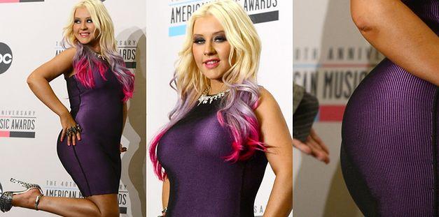 Christina Aguilera jest dumna z biustu i pośladków!