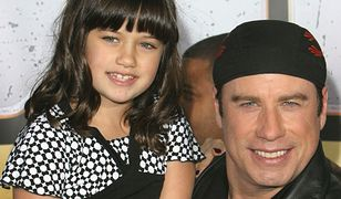 John Travolta z córką Elle Bleu w 2007 roku