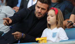 David Beckham zabrał córkę na mecz mistrzostw świata kobiet