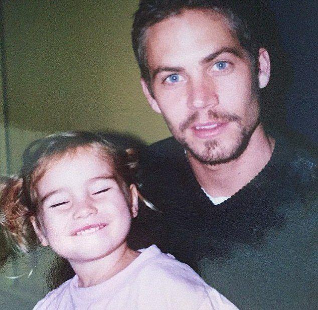 Meadow Walker z tatą