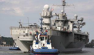 USS Mount Whitney - flagowy okręt USA w Gdyni