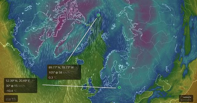 Temperatury z dnia 25.02 2018r.