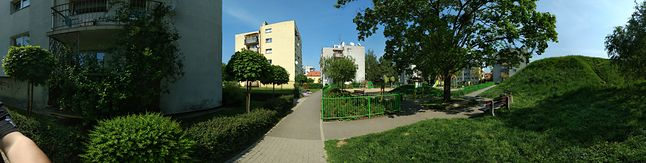 Szeroka panorama
