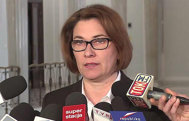 Rzeczniczka PiS Beata Mazurek o uchwale Sądu Najwyższego: zebrał się zespół kolesi